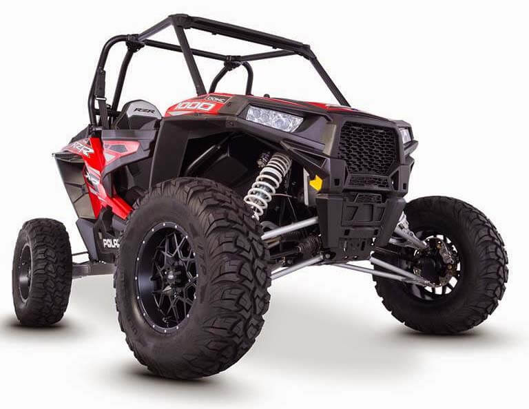 ITP Hurricane wheels on Polaris Rzr 1000
