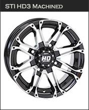 STI HD3 Machined Wheels