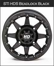 STI HD5 Beadlock Black