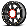KMC Addict 2 Beadlock Satin Black Wheel.